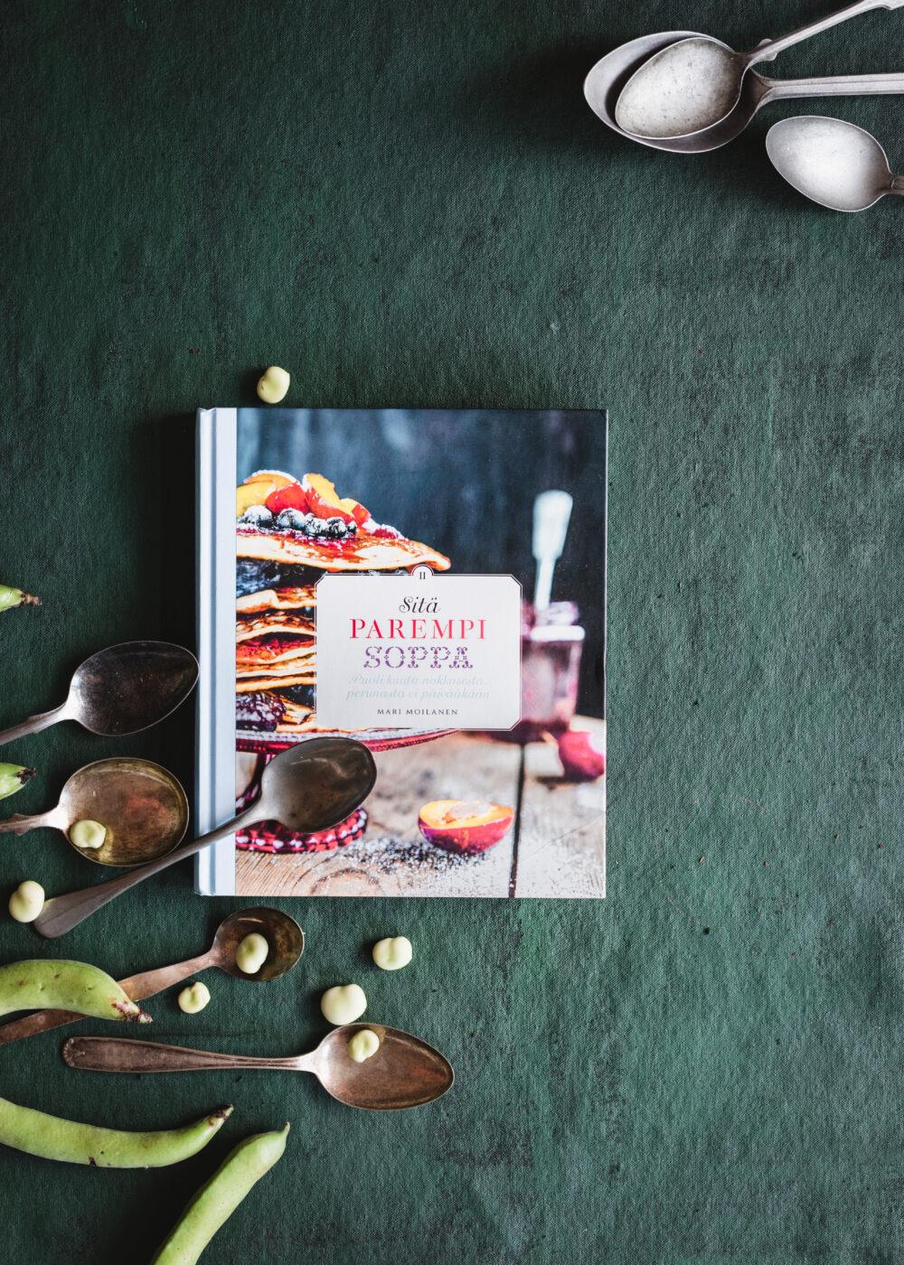 sitä parempi soppa II, mari moilasen keittokirjat, ruokakirjoja, keittokirjoja