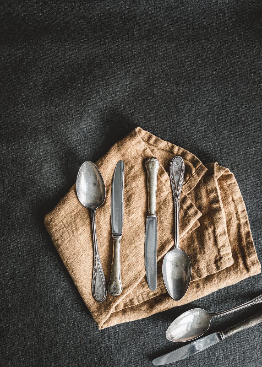 lusikka ja veitsi-setti