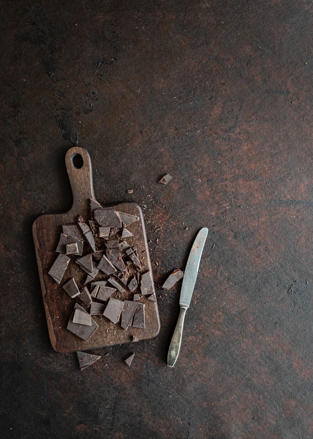 ruokakuvausalusta, kuvausalusta, kuvausalusta suklaa